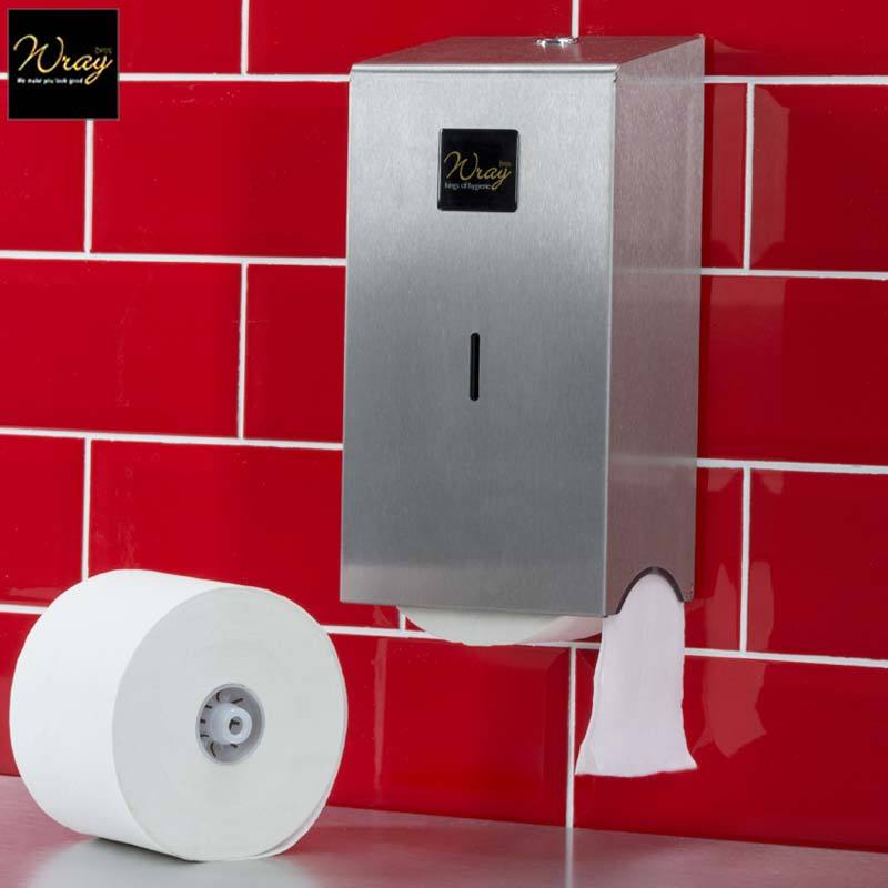 Jangromatic Toilet Roll Dispenser Stainless Steel