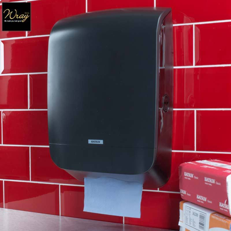 Katrin Inclusive Hand Towel Dispenser M Black 92063