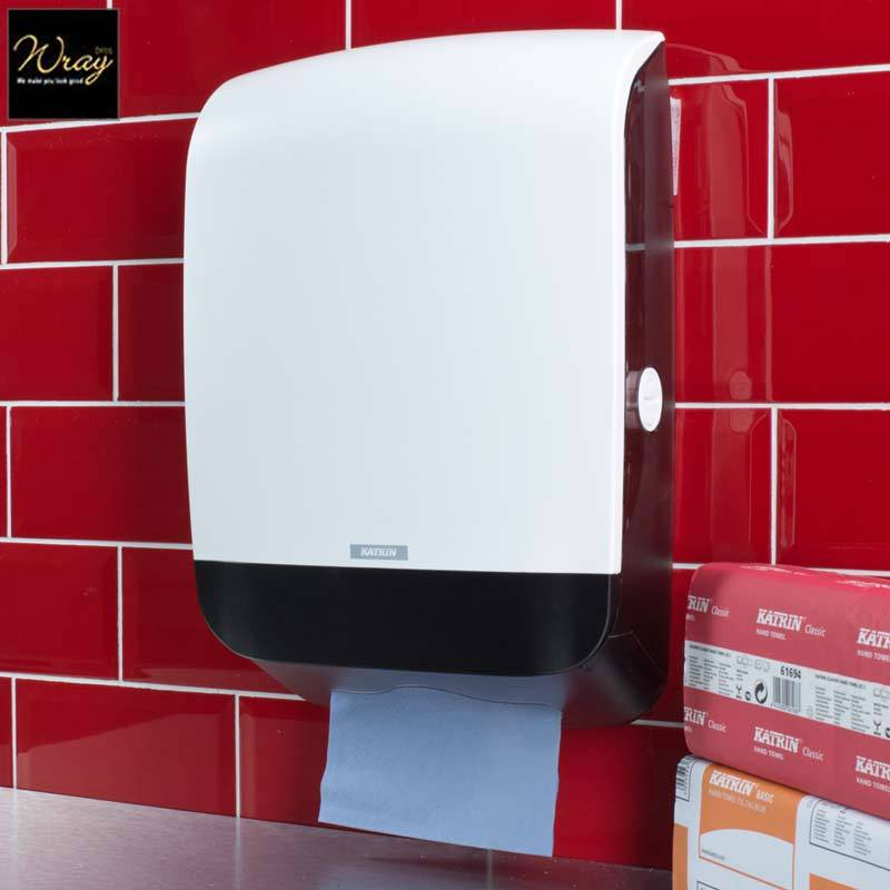 Katrin Inclusive Hand Towel Dispenser White 90168