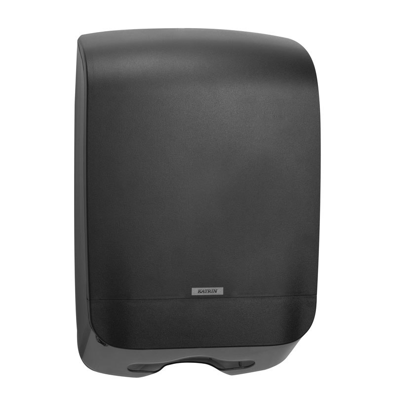 Katrin Inclusive Mini Hand Towel Dispenser Black 92087