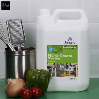 Jangro Kitchen Cleaner Sanitiser Odourless, 5 litre