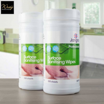 Jangro Surface Sanitising Wipes x 200