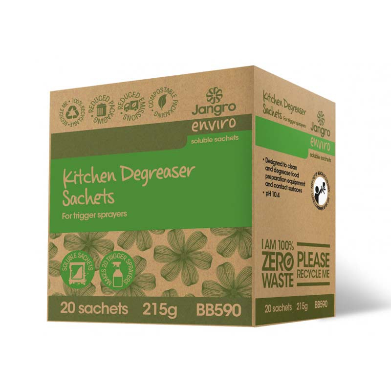 Jangro Kitchen Degreaser Sachets for Trigger Sprayer