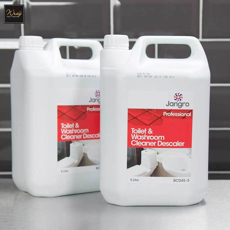 Jangro Toilet & Washroom Cleaner Descaler, 5 litre