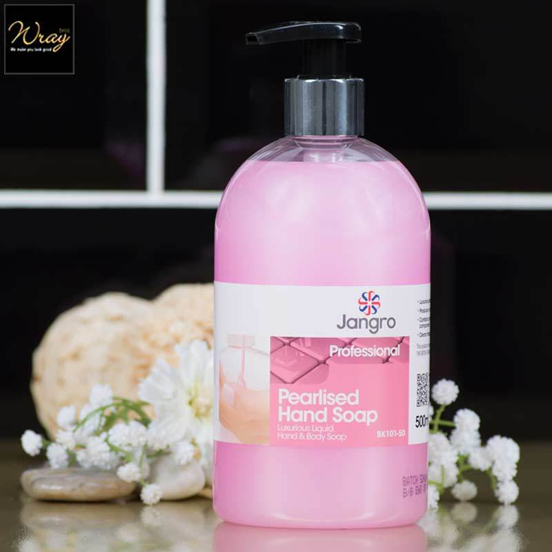 Jangro Pearlised Hand Soap, 6 x 500ml