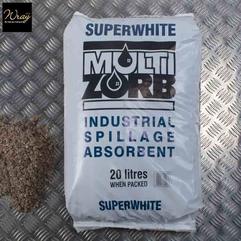 Super White Multi Zorb Absorbent Granules 20L
