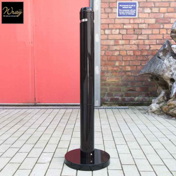 Smoking Ashtray Pole Bin