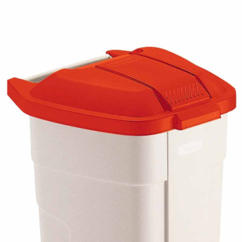 Mobile Container Lids Red