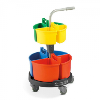 Numatic Carousel Cleaning Trolley NC4G