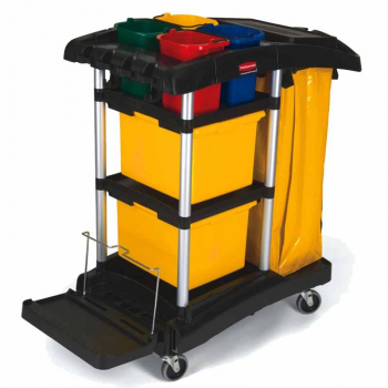 Rubbermaid Secure Microfibre Cart