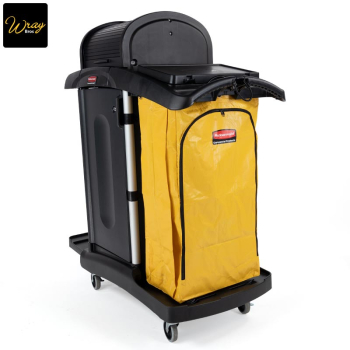 Rubbermaid Secure Microfibre Cart With Hood
