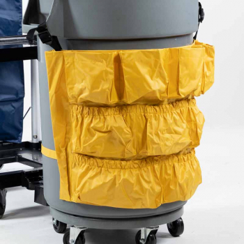 Space Saver Trolley Storage Apron for Mobile Waste Bin