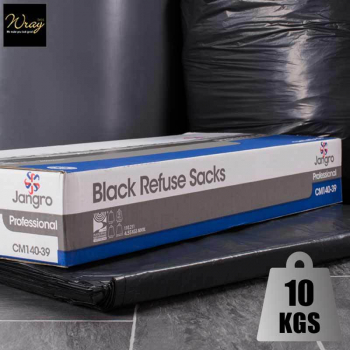 Medium Duty Black Refuse Sacks 34'' x 200 sacks