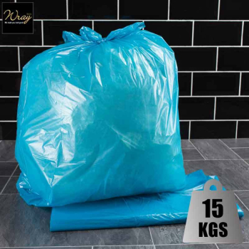 Colour Coded Refuse Sacks Blue x 200 sacks