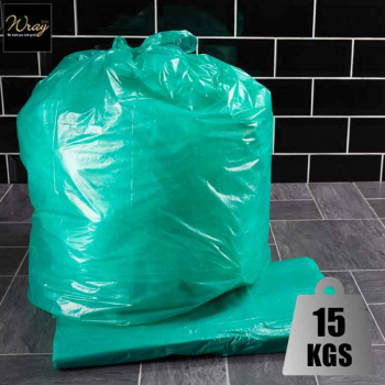 Colour Coded Refuse Sacks Green x 200 sacks