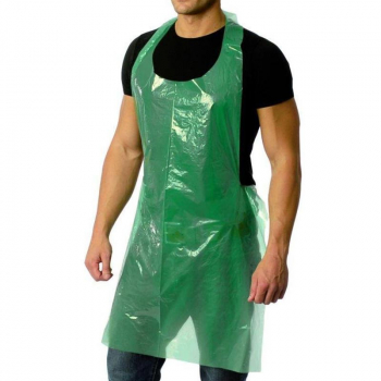 Green NHS Poly Apron x375 (5 x 75 per case)