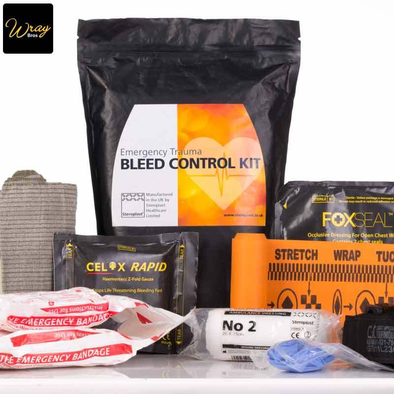 Emergency Trauma Bleed Control Kit