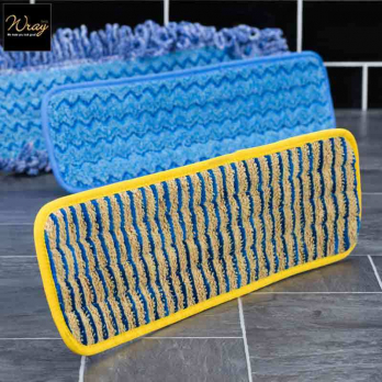Scrubber Mop Head For Use With Rubbermaid Pulse Mop