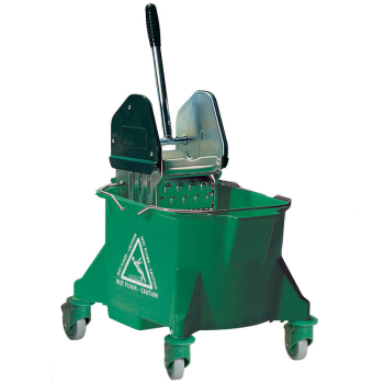 Kentucky Mop Bucket Combo Unit Metal Red