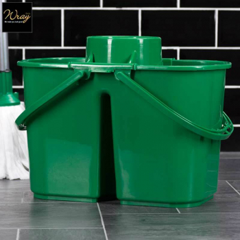 Duo-Hygiene Mop Bucket Green