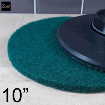 Green 10 inch Rotary Floor Pad