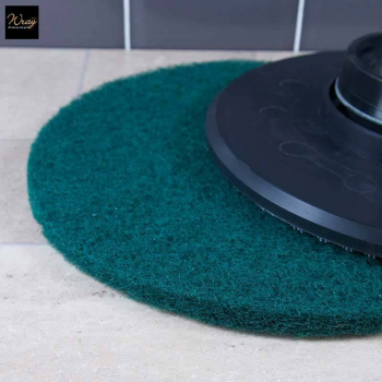 Green 15 inch Rotary Floor Pad
