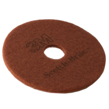 Brown 16 inch Rotary Floor Pad