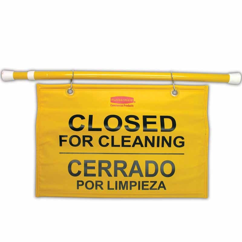 Closed for Cleaning Hang Sign