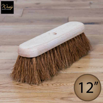 12'' Soft Natural Coco Fibre Broom Head