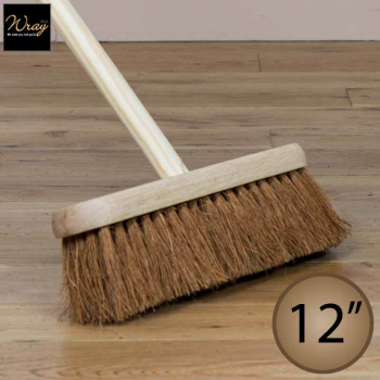 12 inch Coco Brush with Handle