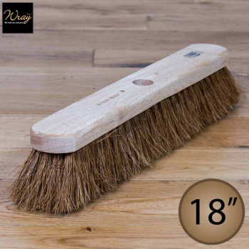 18'' Soft Natural Coco Fibre Broom Head