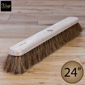 24'' Soft Natural Coco Fibre Broom Head