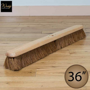36'' Soft Natural Coco Fibre Broom Head