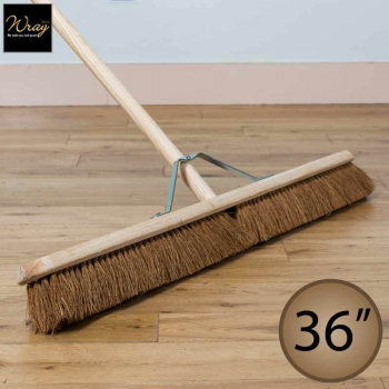 36 inch Coco Brush with Pole