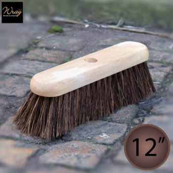 12'' Medium/Stiff Bassine Broom Head
