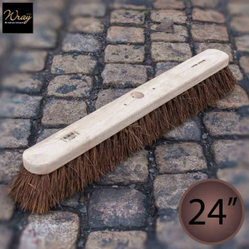 24'' Medium/Stiff Bassine Broom Head