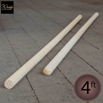 Wooden Handle, 4ft, 48''