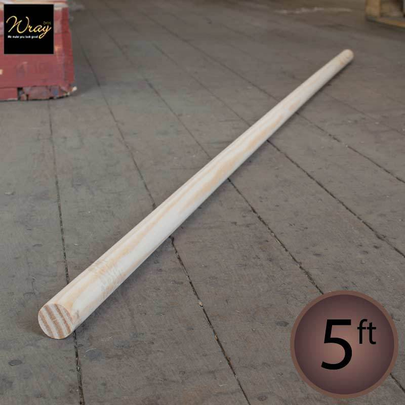 Wooden Handle 5ft