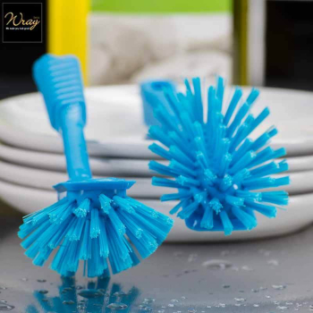 Dish Brushes Blue