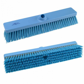 457mm Hygiene Stiff Platform Broom Head B994 Blue