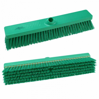 457mm Hygiene Stiff Platform Broom Head B994 Green