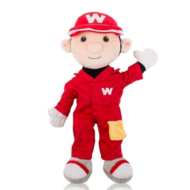 Willy Wiper Mascot Doll