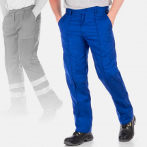 Able Workwear Contrast Trousers Portwest Elasticated Work Pants Texo Tx11 Kneepad Facility Maintenance & Safety