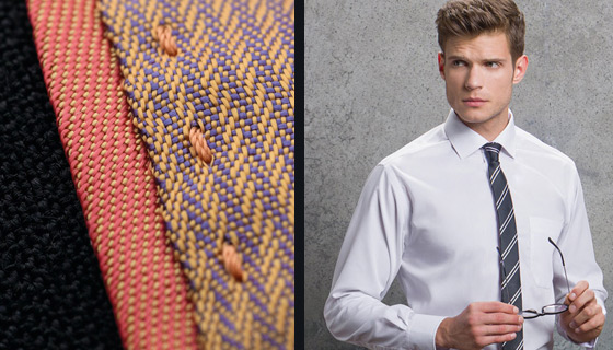 What is the difference between poplin and oxford types of fabric